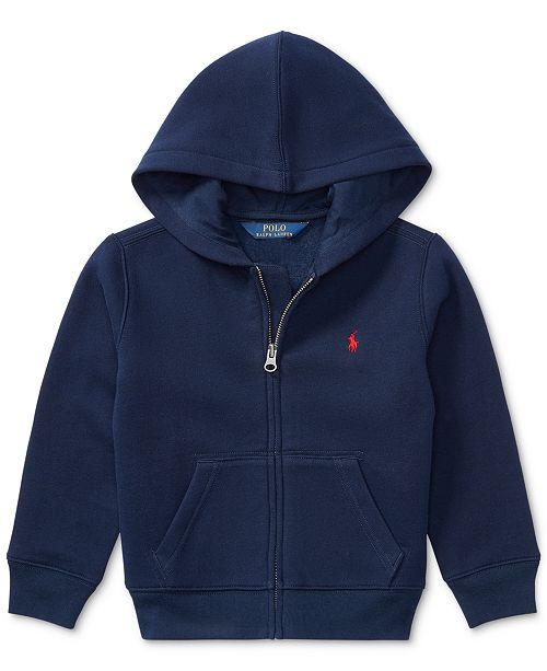 83f8578cf Polo Ralph Lauren Little Boys Full Zip Hoodie   Reviews - Sweaters ...