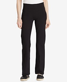 Lauren Ralph Lauren Jersey-Knit Performance Yoga Pants