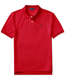 Ralph Lauren Pique Polo, Big Boys