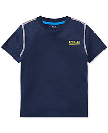Polo Ralph Lauren V-Neck T-Shirt, Little Boys