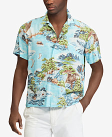 Polo Ralph Lauren Men's Big & Tall Classic-Fit Printed Shirt
