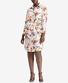 Lauren Ralph Lauren Plus Size Floral Dress