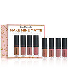 bareMinerals 4-Pc. Gen Nude Mini Matte Liquid Lip Set