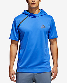 adidas Men's Sport Shooter Short-Sleeve Hoodie
