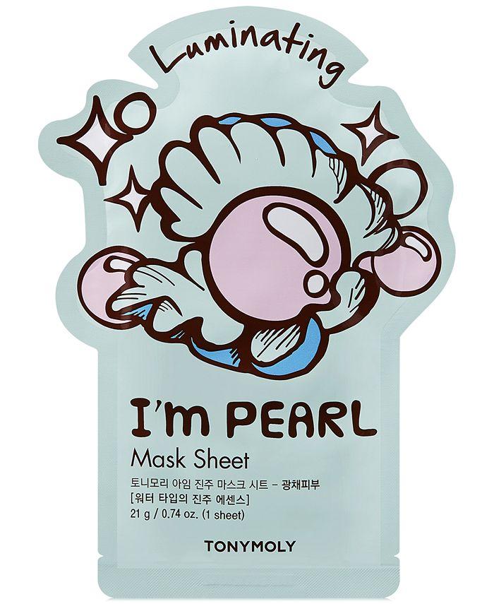 TONYMOLY - I'm Real Sheet Mask - Pearl (Luminating)