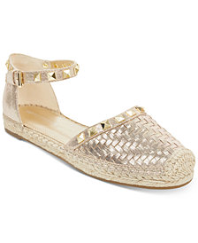 Marc Fisher Graze Two Piece Studded Espadrilles