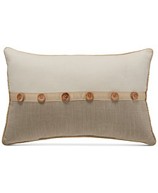 "Croscill Berin 18"" x 12"" Boudoir Decorative Pillow"