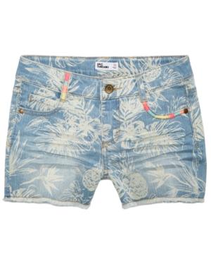 Epic Threads Printed Denim Shorts Big Girls Created for Macys
