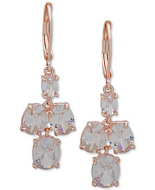 Anne Klein Crystal Drop Earrings