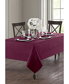 Waterford Corra Burgundy Table Linen Collection