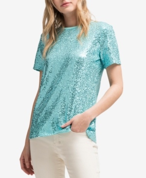 Dkny Sequined T-Shirt,...