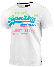 Superdry Men's Vintage Logo Graphic-Print T-Shirt