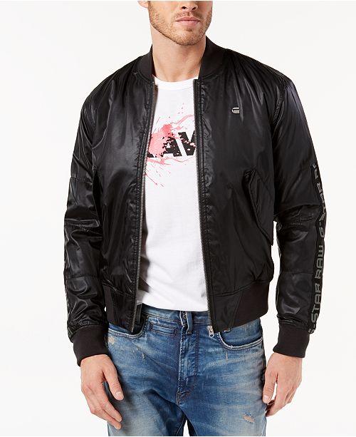 G-Star Raw Men's Rackam Bomber Jacket, Created for Macy's