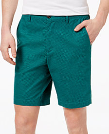Michael Kors Men's Classic-Fit Stretch Polka Dot-Print Shorts