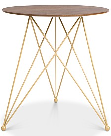 Elle Decor Livvy Side Table, Quick Ship