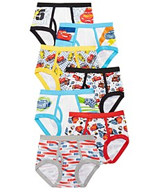 Car's 7-Pk. Brief Underwear, Toddler Boys