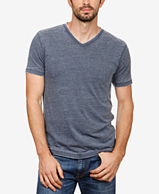Lucky Brand Men's Burnout V-Neck T-Shirt