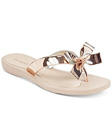 Tutu Bow Flip Flops