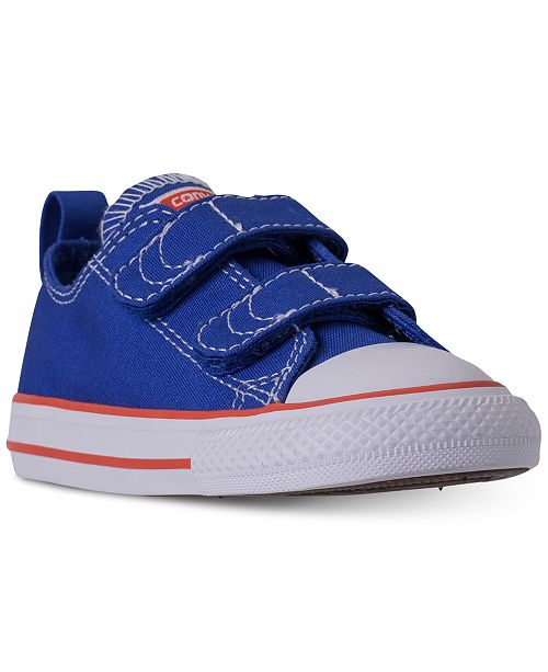 11e6ee159a94 Converse Toddler Boys  Chuck Taylor Ox Casual Sneakers from Finish ...