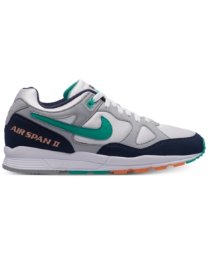 Nike Men S Air Span Ii Casual Sneakers From Finish Line In Grey ... 60906b289c9f
