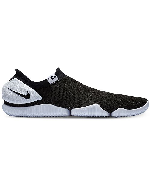 reputable site dd5b1 1864c ... Nike Men s Aqua Sock 360 Casual Sneakers from Finish ...