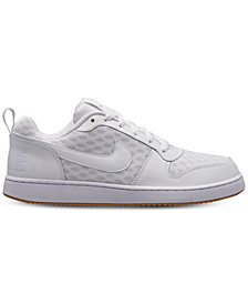 Nike Men's Court Borough Low SE Casual Sneakers from Finish Line