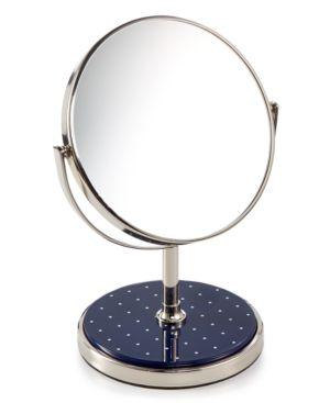 kate spade new york Inset Navy Dot Vanity Mirror Bedding 6052972