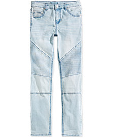 Jaywalker Big Boys Moto Denim Jeans