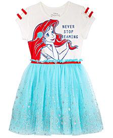 Disney's® Ariel Layered-Look Dress, Little Girls