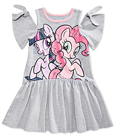 My Little Pony Cold-Shoulder Graphic-Print Dress, Toddler Girls