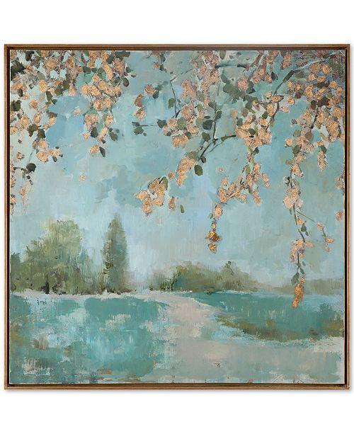 Uttermost Peaceful Landscape Wall Art - Wall Art - Macy\'s