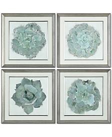 Natural Beauties 4-Pc. Botanical Print Wall Art Set
