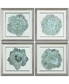 Uttermost Natural Beauties 4-Pc. Botanical Print Wall Art Set