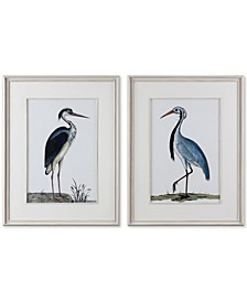 Shore Birds 2-Pc. Framed Printed Wall Art Set
