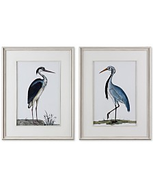Uttermost Shore Birds 2-Pc. Framed Printed Wall Art Set