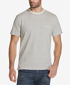 Weatherproof Vintage Men's Thin-Striped Pocket T-Shirt