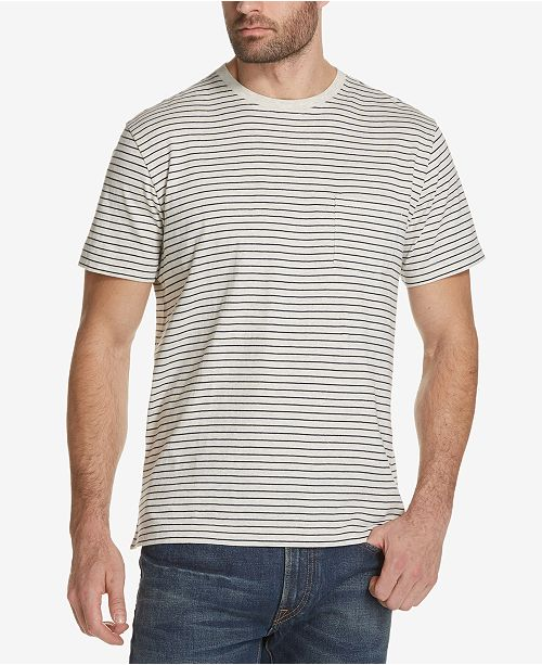 71518522 Weatherproof Vintage Men's Thin-Striped Pocket T-Shirt & Reviews - T ...