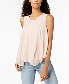 Style & Co Handkerchief-Hem Top, Created for Macy's