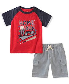 Kids Headquarters Baby Boys 2-Pc. Graphic-Print T-Shirt & Shorts Set