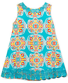 Rare Editions Baby Girls Printed Shift Dress
