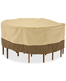 Small Round Patio Table Set Cover, Quick Ship