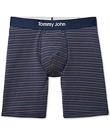 Tommy John Men's Cool Mitch Striped Boxer Briefs