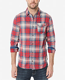 Buffalo David Bitton Men's Plaid Woven Shirt