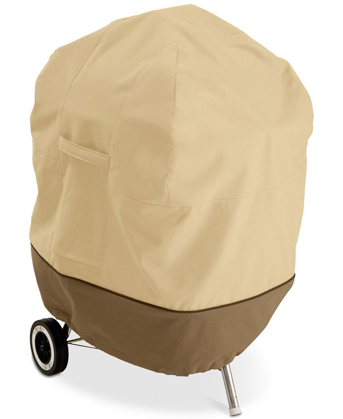 Classic Accessories - Kettle BBQ Grill Cover, Quick Ship