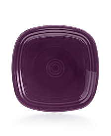 Fiesta Mulberry Square Salad Plate