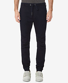 Buffalo David Bitton Men's Straight Fit Zoltan X Jogger Jeans