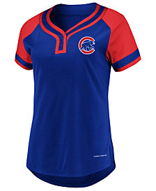 Majestic Women's Chicago Cubs League Diva T-Shirt
