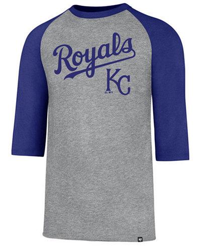 '47 Brand Men's Kansas City Royals Pregame Raglan T-shirt