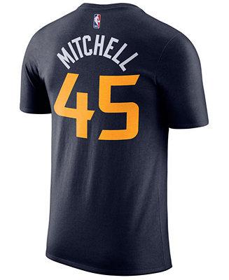 Nike Men s Donovan Mitchell Utah Jazz Icon Player T-Shirt - Sports Fan Shop  By Lids - Men - Macy s 6f395702a
