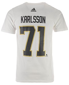 adidas Men's William Karlsson Vegas Golden Knights Silver Player T-shirt